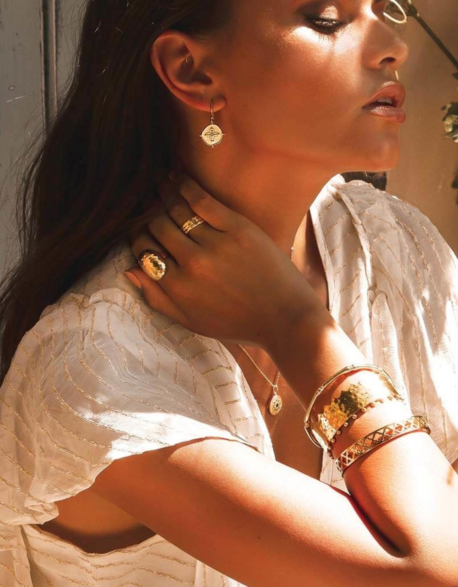 MURKANI SAHARA SMALL EARRINGS YELLOW GOLD