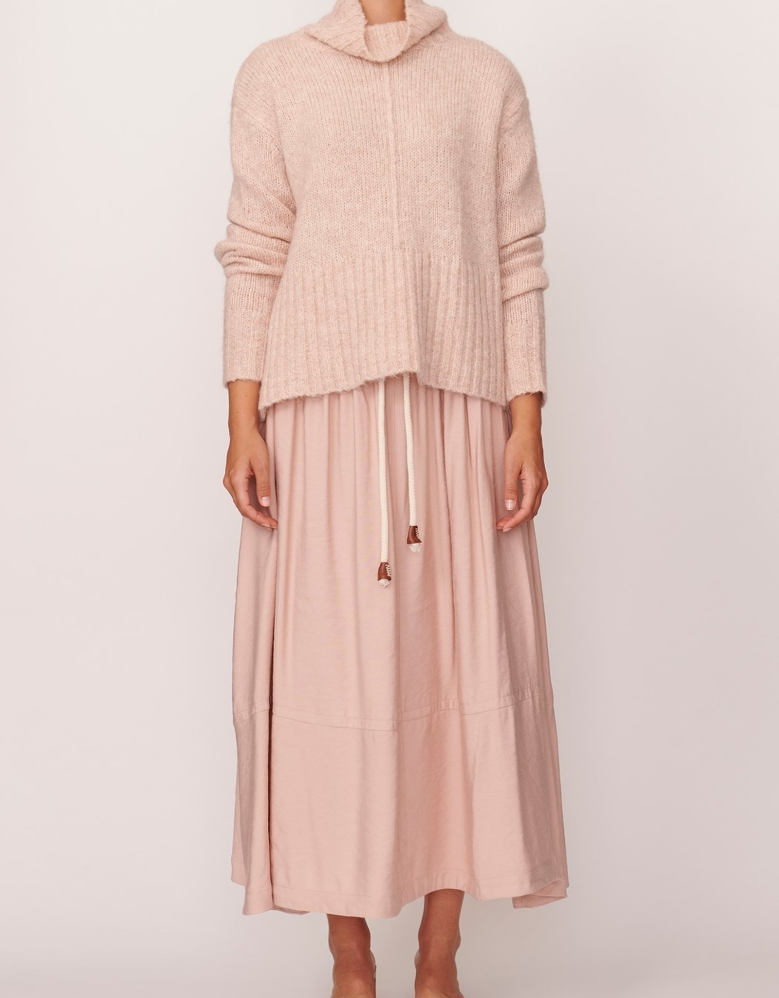 POL ASPEN TURTLENECK KNIT PINK