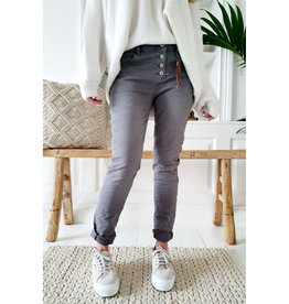 SALE - BYPIAS SUPER COMFY JEANS GRAPHITE