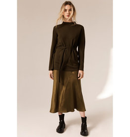 POL HIGHLANDS SKIRT KHAKI