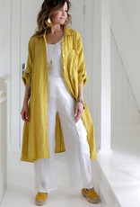 BYPIAS FOOL FOR LOVE LINEN TUNIC CITRUS