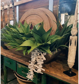 GIANT FAUX AGAVE GREEN