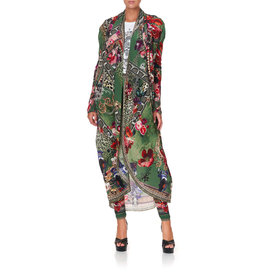 CAMILLA TALES OF TIME LONG CASUAL JACKET W/POCKETS