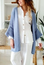 SALE - BYPIAS SANDY CARDIGAN BLUE DREAMS