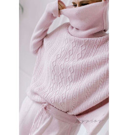 BYPIAS  AURORA TURTLE NECK LIGHT PINK