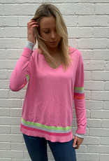 SOPHIE MORAN RAINBOW KNIT LOLLY PINK