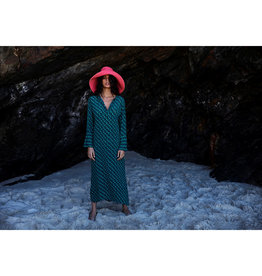 ONESEASON GENIE DRESS MONTEREY PEACOCK