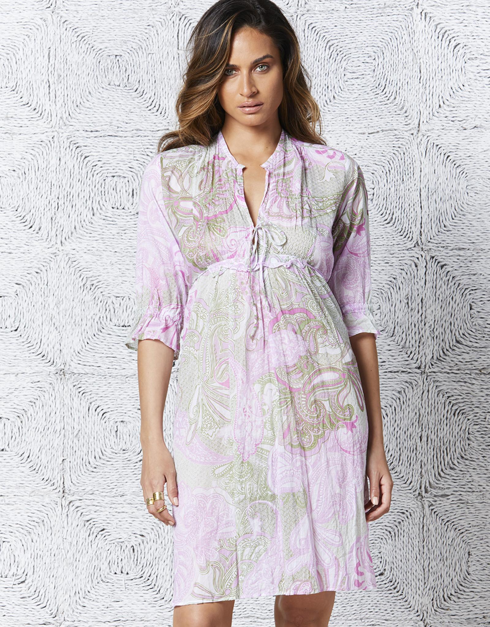 ONESEASON AUDREY DRESS SAN MIGUEL LILAC