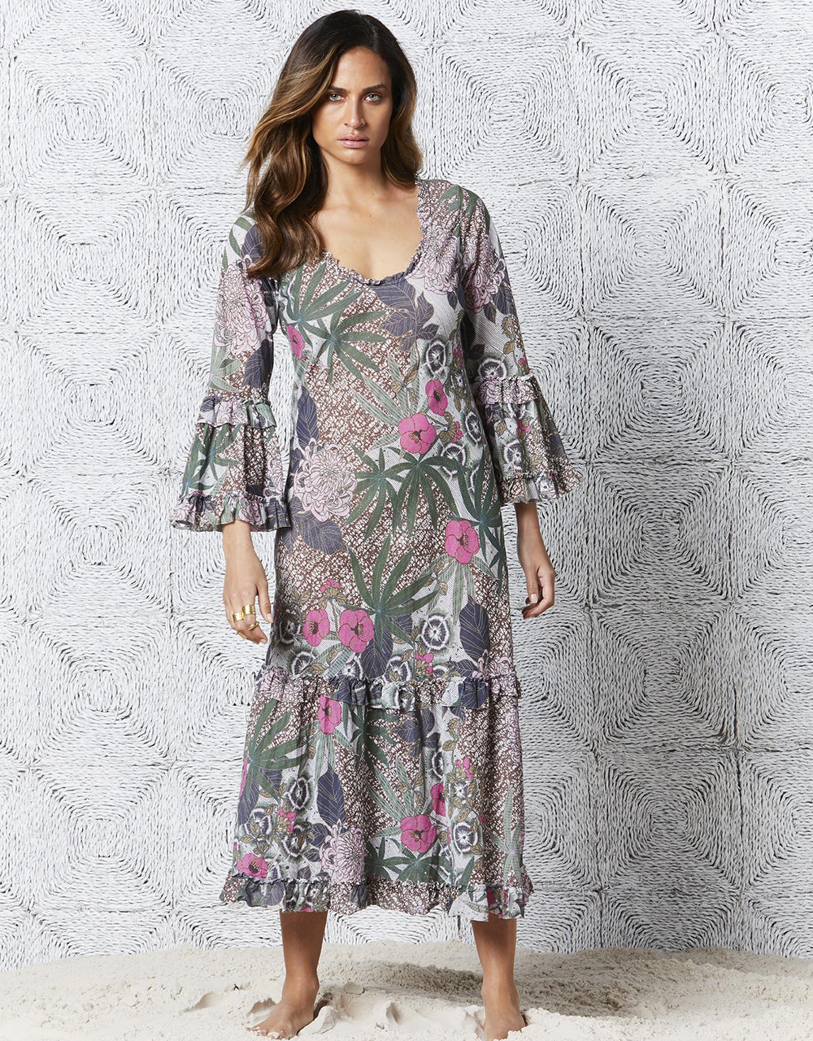 ONESEASON LONG INDI DRESS BORA BORA