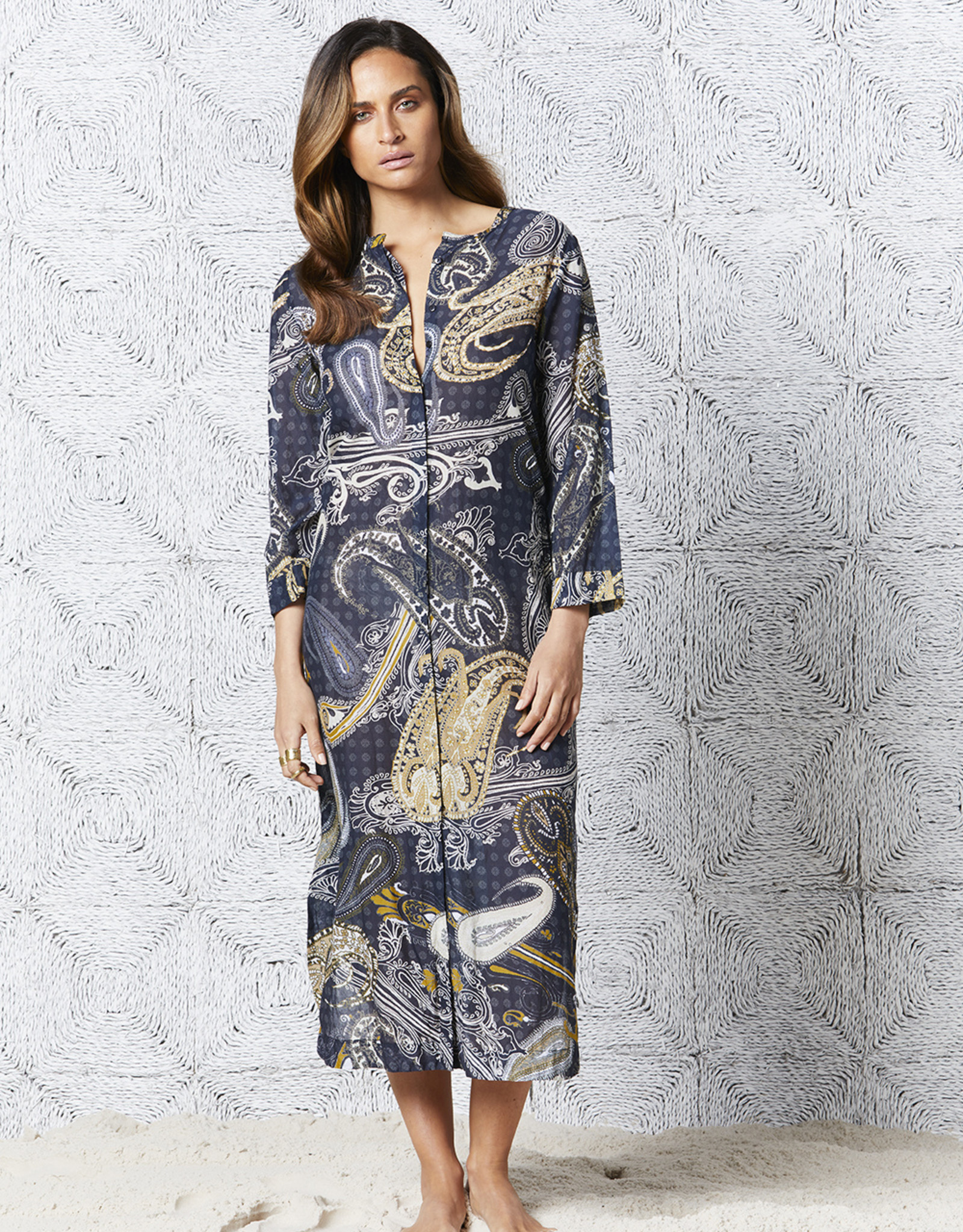 ONESEASON INDIA DRESS CARMEL