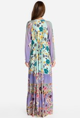 SALE - JOHNNY WAS PANELOPE DRESS WITH SLIP MULTI