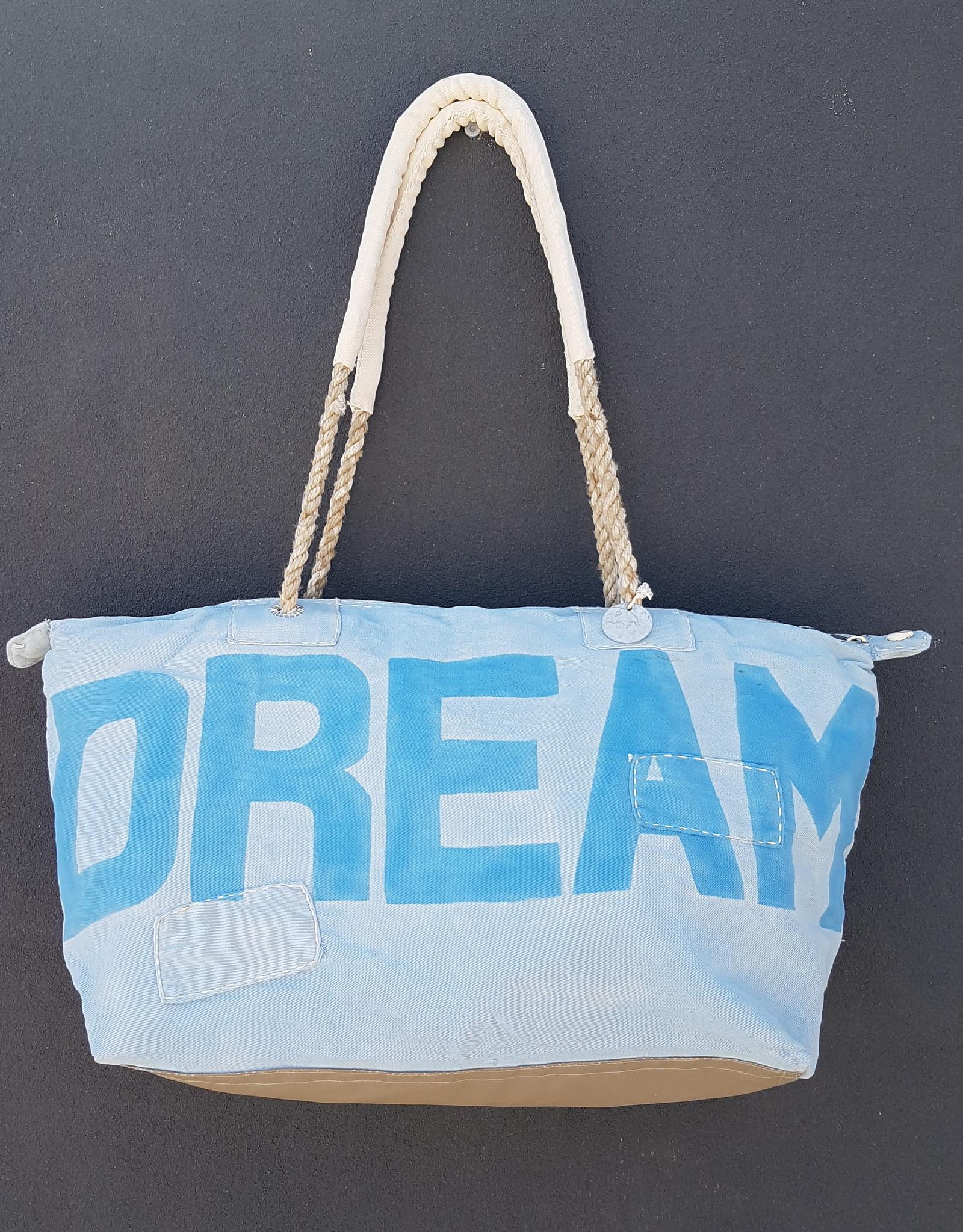 ALI LAMU LARGE WEEKEND BAG PALE BLUE BLUE DREAM