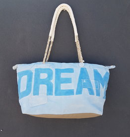 ALI LAMU LARGE WEEKEND BAG PALE BLUE BLUE DREAM
