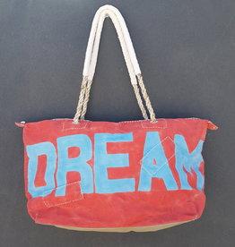 ALI LAMU LARGE WEEKEND BAG RED BLUE DREAM
