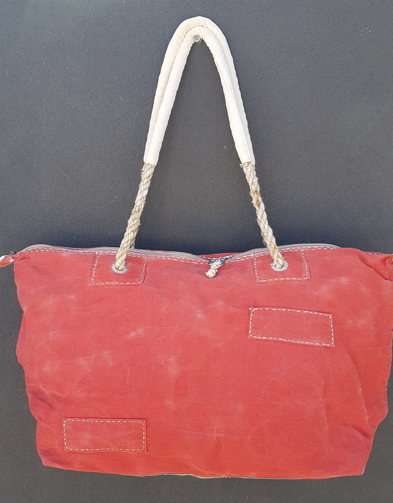 ALI LAMU LARGE WEEKEND BAG RED BLUE DREAM