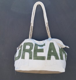 ALI LAMU LARGE WEEKEND BAG CREAM KHAKI DREAM