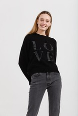KINNEY LOVE IN THE AIR KNIT BLACK