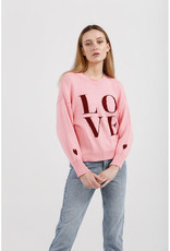 KINNEY LOVE IN THE AIR KNIT PINK