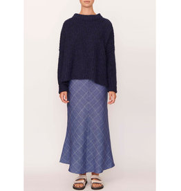 POL COCOON OVERSIZED KNIT INK