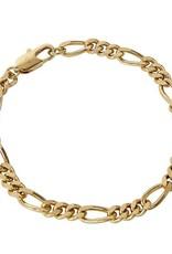 FAIRLEY FIGARO CHAIN BRACELET GOLD