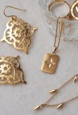 MURKANI GYPSY EARRINGS IN YELLOW GOLD