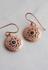 MURKANI ANDALUSIA SMALL EARRINGS ROSE GOLD