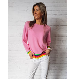 JUMPER 1234 MEXICAN WAVE SWEAT PINK
