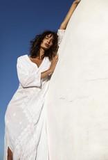 ONESEASON LONG GOA DRESS WHITE