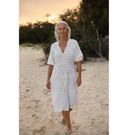 TALAMAYA CASTAWAY LONG GYPSY DRESS ANGEL