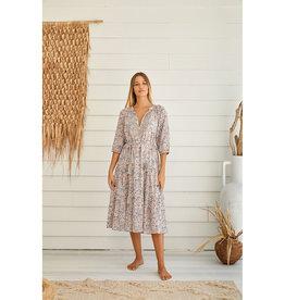 TALAMAYA NARA GYPSY LONG DRESS SILVER