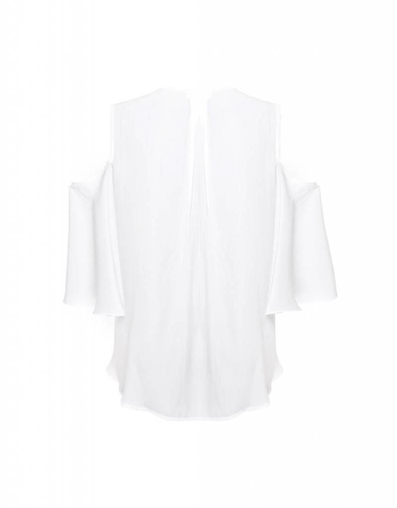 MELA PURDIE CUT OUT BELL BLOUSE