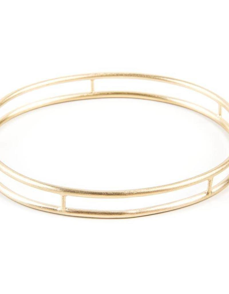 ALEXA LADDER BANGLE GOLD