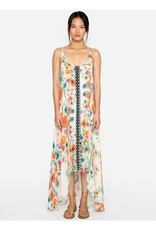 SALE - JOHNNY WAS FORMA HANKERCHIEF TANK DRESS FLORAL MULTI