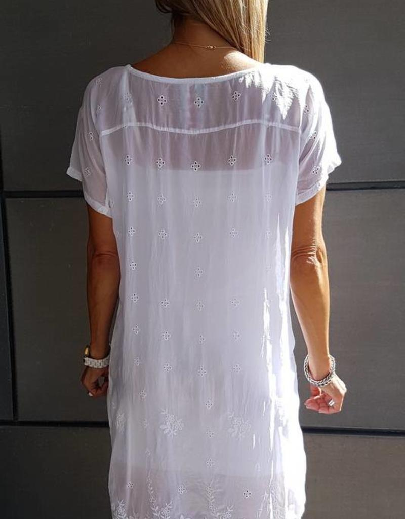 SALE - JOHNNY WAS KOBI LONG TUNIC