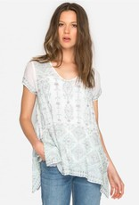 SALE - JOHNNY WAS KYUSS BLOUSE WHITE