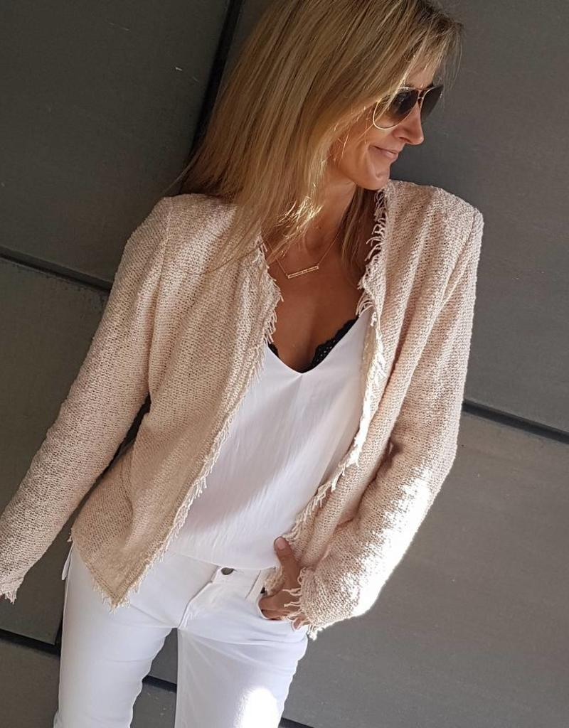 IRO SHAVANI JACKET LIGHT PINK