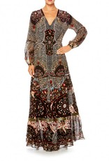 SALE - CHAMBER OF REFLECTIONS PEASANT MAXI DRESS