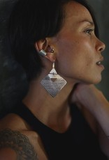 EWA AIBOM MOTIF EARRINGS