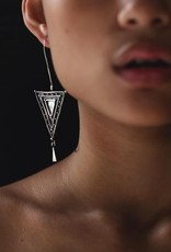 EWA MAPRIK TRIANGLE EARRINGS