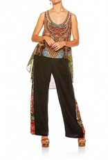 CAMILLA THE GYPSY LOUNGE LONG BACK SCOOP NECK SINGLET