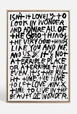 BLA THE GOOD THINGS - CANVAS PRINT 1/50 - FRAME 80X110