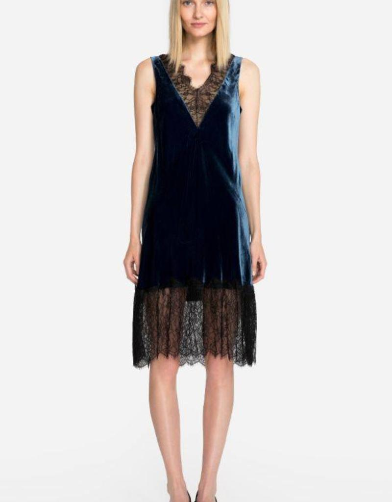 SALE - JOHNNY WAS SAMANTHA VELVET DRESS