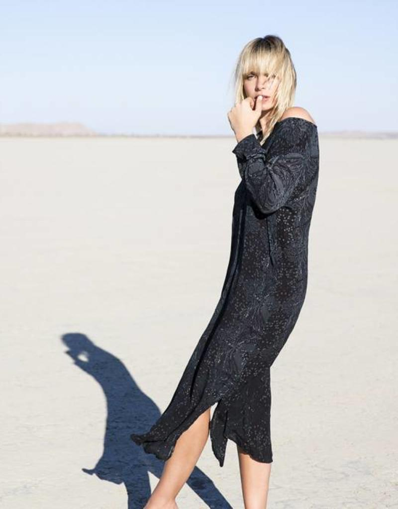 ONESEASON GENIE DRESS CORSICA  BLACK