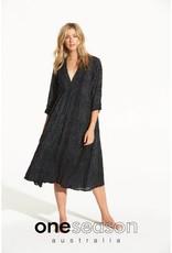 ONESEASON MIA DRESS CORSICA BLACK