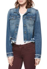 PAIGE ROWAN JACKET W/ DESTRUCTED HEM