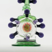 Freeek Green & Purple Rig
