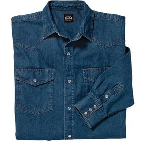 KEY INDUSTRIES KEY L/S DENIM WESTERN 541.45
