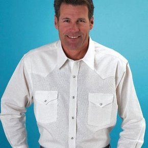 ELY OXFORD WHITE SHIRT 15202965-01 WH