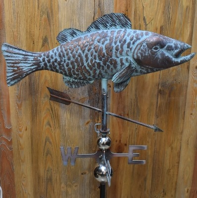 2D FISH WEATHERVANE WV727FC