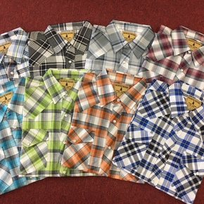 NORTHWOOD MENS SHORT SLEEVE  WESTERN 3030